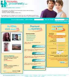 Gratuit et sérieux, Proximeety.fr est le site idéal pour trouver l'amour partout en France!